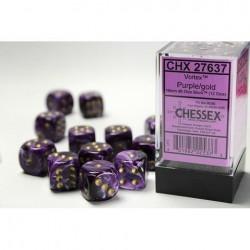 Pack 12 dés 6 Violet Chessex Annecy