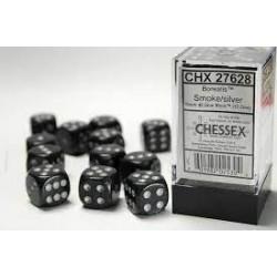 Pack 12 dés 6 Fumé Chessex Annecy