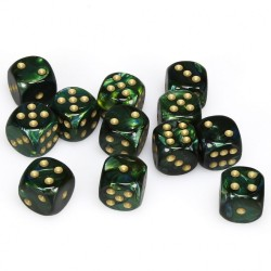 Pack 12 dés 6 Jade Chessex Annecy