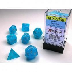 7 dés * Luminary * Sky un jeu Chessex
