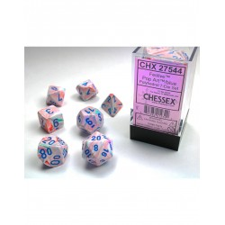 7 dés * Festive * Pop Art un jeu Chessex