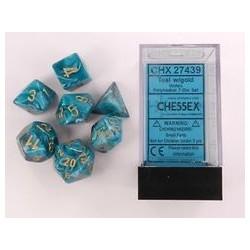 7 dés * vortex * SARCELLE / TEAL un jeu Chessex