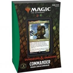 Magic - Deck Commander - Rage Draconique