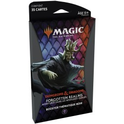Magic - Booster Forgotten Realms - Thème Noir