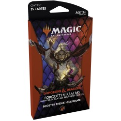 Magic - Booster Forgotten Realms - Thème Rouge