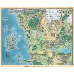 Faerûn - Carte du continent