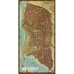 Plan de la cité de  Waterdeep