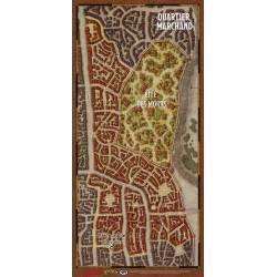Vol des dragons : Plans quartiers  Waterdeep