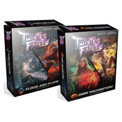 Twisted flames - Pack Dark Machinations + Flood & Flames + Figurines Bonus 2