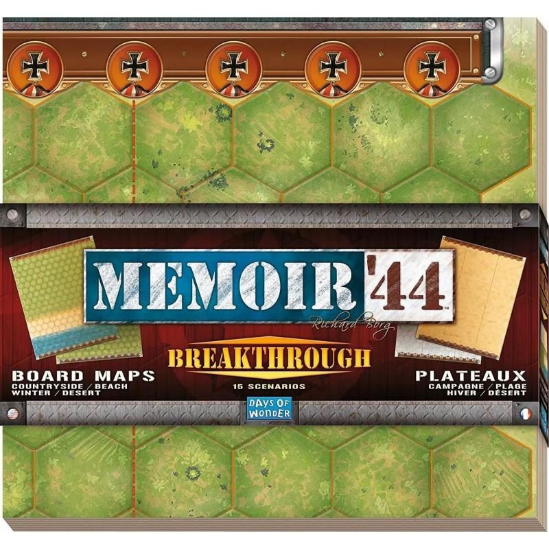 Mémoire 44 - plateaux Breakthrough un jeu Days of wonder
