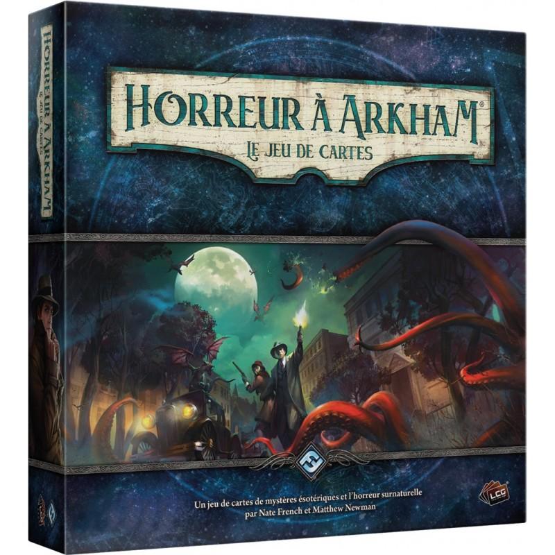 horreur à Arkham le jeu de cartes - boite de base