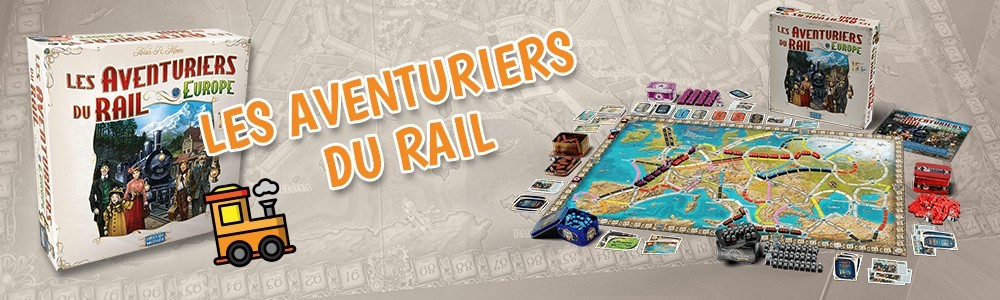 Gamme Aventuriers du Rail